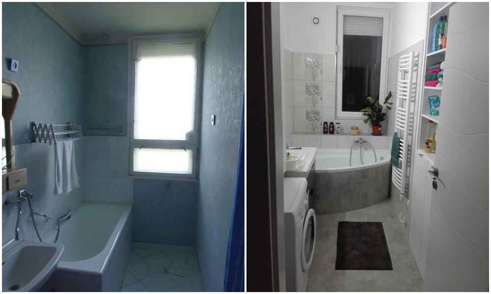 Így változik a régi fürdőszoba modernné és kellemessé – Otthonlap.hu